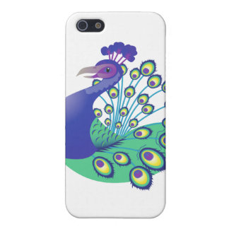 A very Splendid Peacock Case For iPhone SE/5/5s