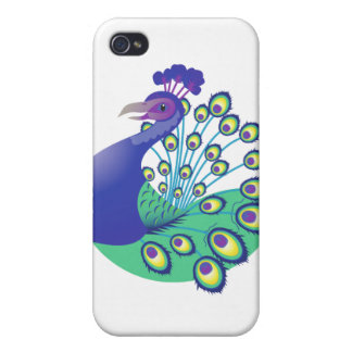 A very Splendid Peacock iPhone 4/4S Cases