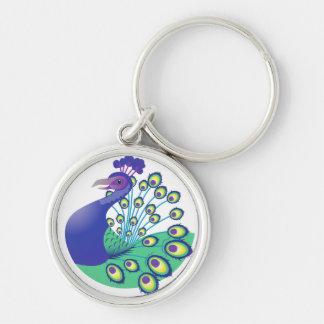 A very Splendid Peacock Keychain