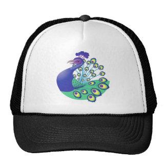 A very Splendid Peacock Trucker Hat