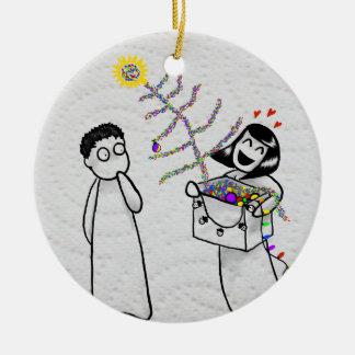 A very tacky Xmas ornament
