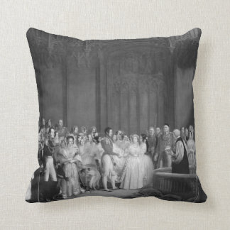A Very Victorian Wedding double-sided Throw Pillow