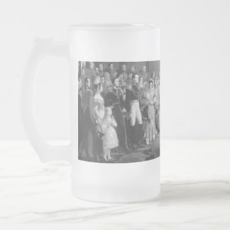 A Very Victorian Wedding Frosted Glass Beer Mug