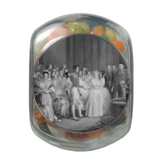 A Very Victorian Wedding Jelly Belly Candy Jars