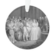 A Very Victorian Wedding Ornament