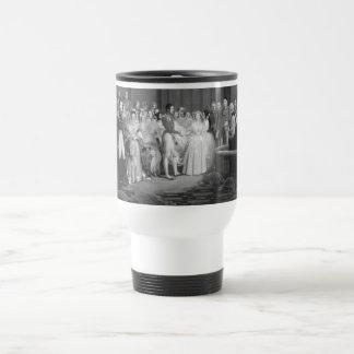 A Very Victorian Wedding Travel Mug