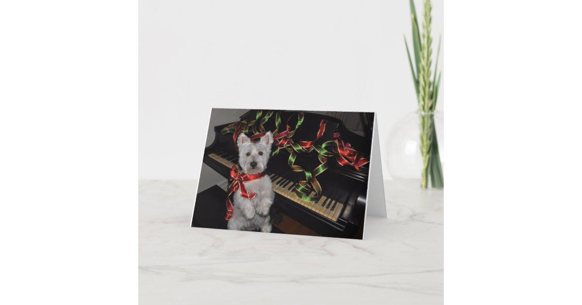 A Very Westie Christmas Holiday Card | Zazzle.com