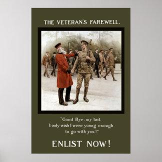 A Veteran's Farewell Poster