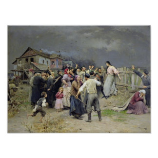 A victim of fanaticism, 1899 poster