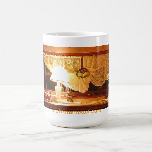 A. Victoria Mixon's Desk Classic White Coffee Mug