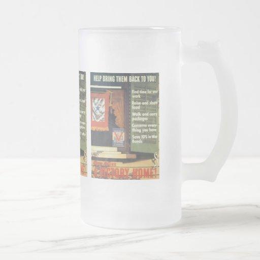 A Victory Home World War 2 Mugs