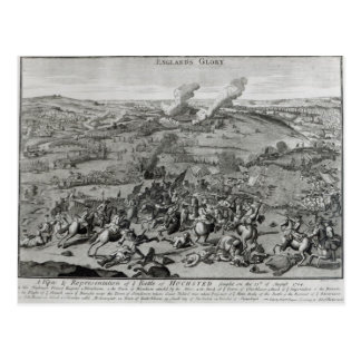 A View and Representation of  Battle of Postcard