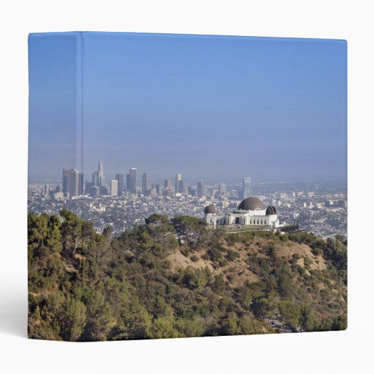 A view from a hiking trail in Griffith Park Binder