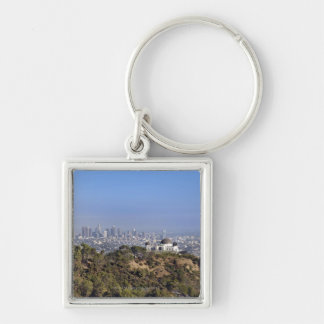 A view from a hiking trail in Griffith Park Keychain