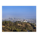 A view from a hiking trail in Griffith Park Postcard
