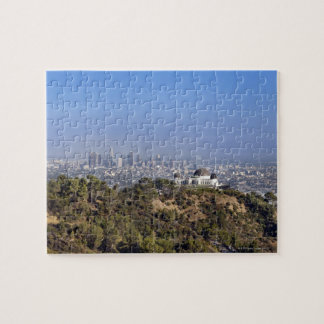 A view from a hiking trail in Griffith Park Puzzle