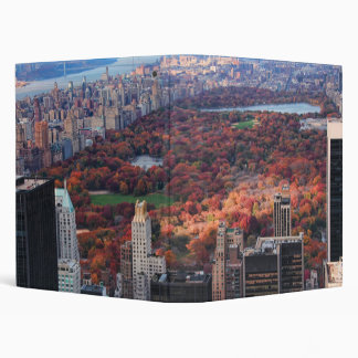 A view from above: Autumn in Central Park 01 Binder