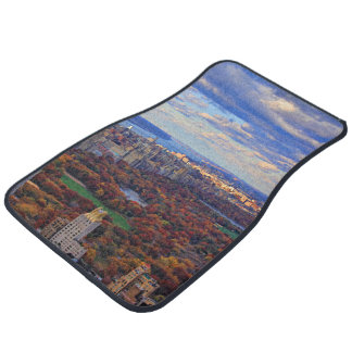 A view from above: Autumn in Central Park 01 Car Floor Mat