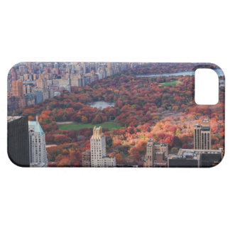 A view from above Autumn in Central Park 01 iPhone 5 Case