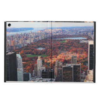 A view from above: Autumn in Central Park 01 Case For iPad Air