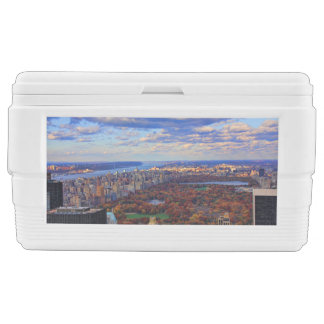 A view from above: Autumn in Central Park 01 Chest Cooler