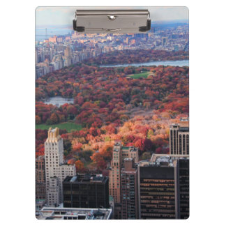 A view from above: Autumn in Central Park 01 Clipboard
