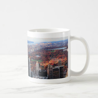A view from above: Autumn in Central Park 01 Coffee Mug