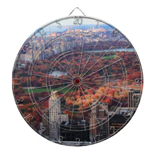 A view from above: Autumn in Central Park 01 Dartboard With Darts