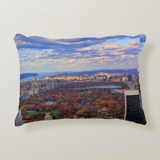 A view from above: Autumn in Central Park 01 Decorative Pillow