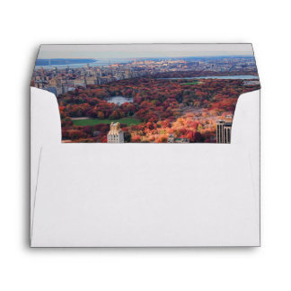 A view from above: Autumn in Central Park 01 Envelope