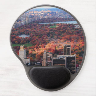 A view from above: Autumn in Central Park 01 Gel Mouse Pad