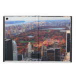 A view from above: Autumn in Central Park 01 iPad Air Cover