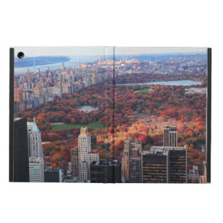 A view from above: Autumn in Central Park 01 iPad Folio Case