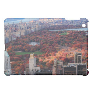 A view from above: Autumn in Central Park 01 iPad Mini Cases