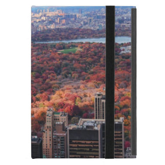 A view from above: Autumn in Central Park 01 iPad Mini Cover