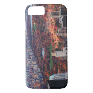 A view from above: Autumn in Central Park 01 iPhone 7 Case