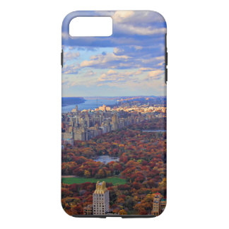 A view from above: Autumn in Central Park 01 iPhone 8 Plus/7 Plus Case