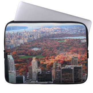 A view from above: Autumn in Central Park 01 Laptop Sleeve