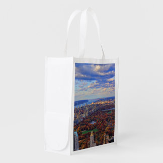 A view from above: Autumn in Central Park 01 Market Tote