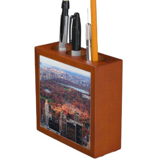 A view from above: Autumn in Central Park 01 Pencil Holder