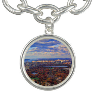 A view from above: Autumn in Central Park 01 Bracelet