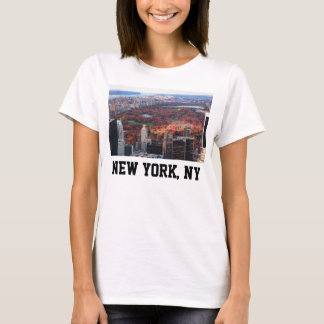 A view from above: Autumn in Central Park 01 T-Shirt