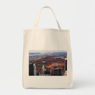 A view from above: Autumn in Central Park 01 Tote Bag