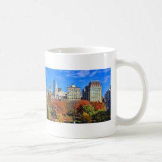 A view from Above: Autumn in Union Square Park NYC Classic White Coffee Mug