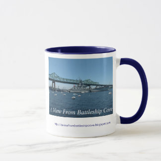 A View From Battleship Cove Mug
