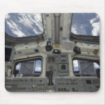 A view from inside the flight deck mouse pad