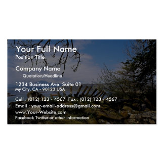 A view from Ord across Loch Eishort, Scotland in E Double-Sided Standard Business Cards (Pack Of 100)