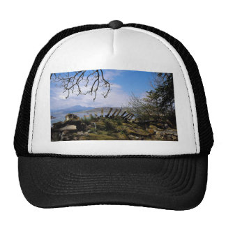 A view from Ord across Loch Eishort, Scotland in E Trucker Hat