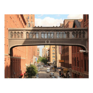 A view from the High Line: National Biscuit Bridge Postcard