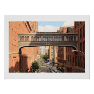 A view from the High Line: National Biscuit Bridge Posters